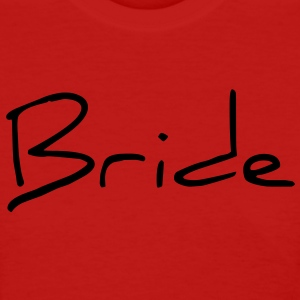 Cool Silver Bride Text Graphic Design for Bachelorette Parties, Hen Party, Stag and Does, Bridal Party and Wedding Showers Women's T-Shirts - Women's T-Shirt