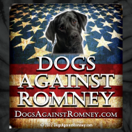 Design ~ Official Dogs Against Romney Black Lab Tie Dye Tee