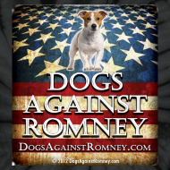 Design ~ Official Dogs Against Romney Jack Russell Tie Dye Tee