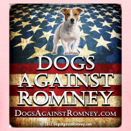 Design ~ Official Dogs Against Romney Jack Russell Womens Tee