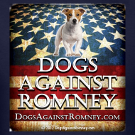 Design ~ Official Dogs Against Romney Jack Russell Tee