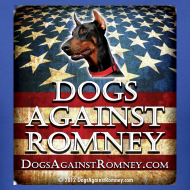 Design ~ Official Dogs Against Romney Doberman  Tee