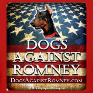 Design ~ Official Dogs Against Romney Doberman Womens Tee