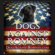 Design ~ Official Dogs Against Romney Black Lab Womens Tee