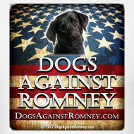 Design ~ Official Dogs Against Romney Black Lab Tee