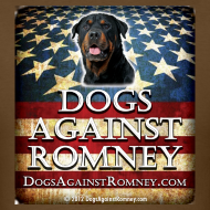 Design ~ Official Dogs Against Romney Rottie Tee
