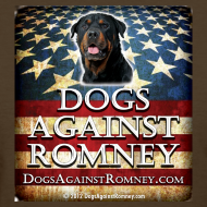 Design ~ Official Dogs Against Romney Rottie Women's Tee