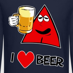 I Love Beer Ice Cold - Crewneck Sweatshirt