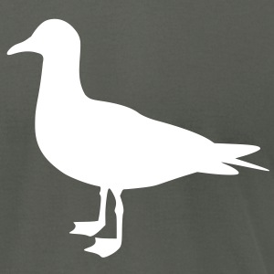 Seagull T-Shirts - Men's T-Shirt by American Apparel
