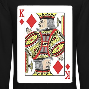 King of diamonds. Long Sleeve Shirts - Crewneck Sweatshirt