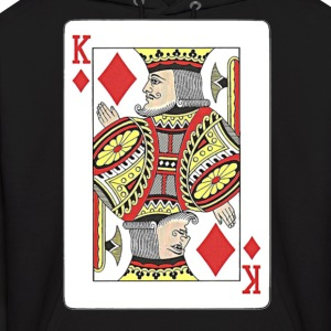 King of diamonds. Hoodies - Men's Hoodie