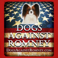 Design ~ Official Dogs Against Romney Cocker Papillion Women's Tee