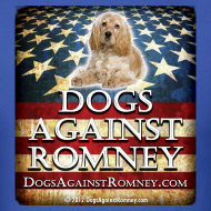 Design ~ Official Dogs Against Romney Cocker Spaniel Tee