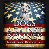 Design ~ Official Dogs Against Romney Dalmation Tee