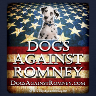 Design ~ Official Dogs Against Romney Dalmation Women's Tee