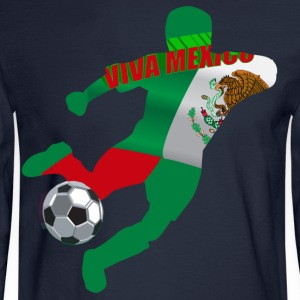 Soccer - Men's Long Sleeve T-Shirt