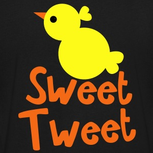 EASTER SWEET TWEET little chick T-Shirts - Men's V-Neck T-Shirt by Canvas
