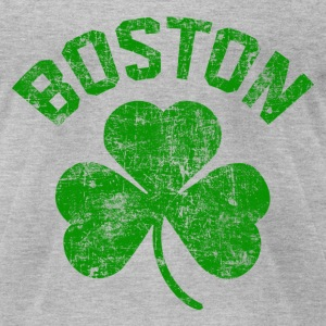 Boston Green T-Shirts - Men's T-Shirt by American Apparel