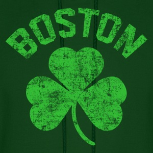 Boston Green Hoodies - Men's Hoodie