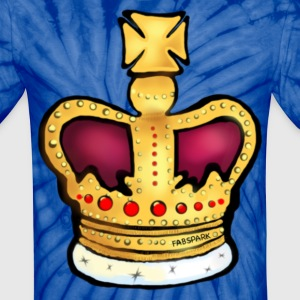 Crown - Unisex Tie Dye T-Shirt