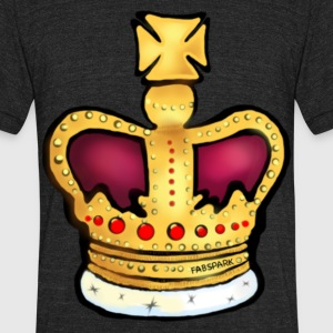 Crown - Unisex Tri-Blend T-Shirt by American Apparel
