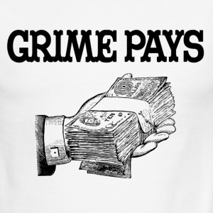 Grime Pays T-Shirts - Men's Ringer T-Shirt