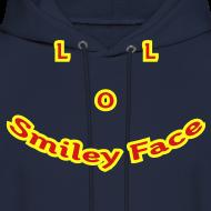 Design ~ LOL Smiley Face – Mens Hoodie