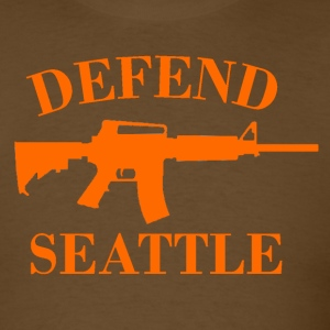 Defend Seattle - Men's T-Shirt
