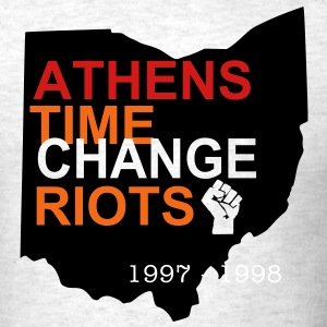 Athens Time Change Riots 1997 & 1998 - Men's T-Shirt
