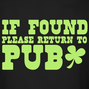 If found please return to PUB! bar  Long Sleeve Shirts - Men's Long Sleeve T-Shirt by Next Level