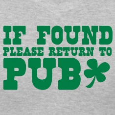 If found please return to PUB! bar  Women's T-Shirts