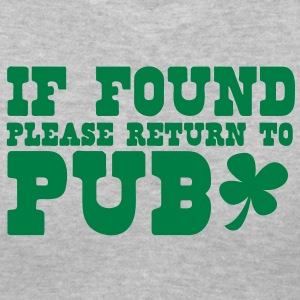 If found please return to PUB! bar  Women's T-Shirts - Women's V-Neck T-Shirt