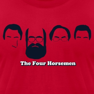 The Four Horsemen - Men's T-Shirt by American Apparel