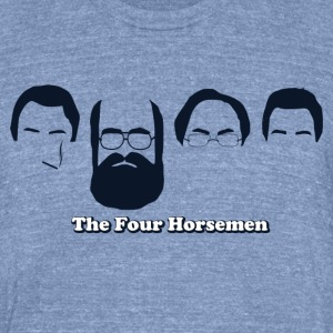 The Four Horsemen - Unisex Tri-Blend T-Shirt by American Apparel