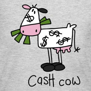 Cash Cow Long Sleeve Shirts - Women's Long Sleeve Jersey T-Shirt