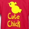 EASTER CUTE CHICK  Kids' Shirts - Kids' Long Sleeve T-Shirt