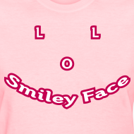 Design ~ LOL Smiley Face - T-Shirt - Womens