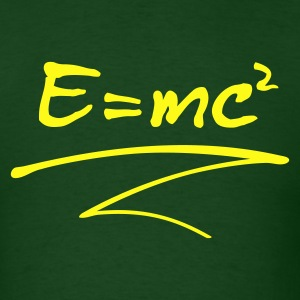 E = mc² T-Shirts - Men's T-Shirt