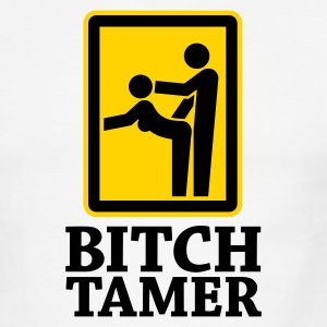 Bitch Tamer Sign 2c T-Shirts - Men's Ringer T-Shirt
