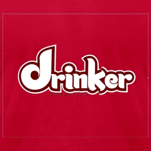 Drinker - Men's T-Shirt by American Apparel