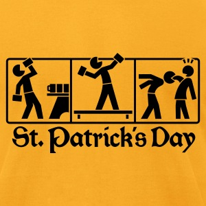 St. Patricks Day 1 T-Shirts - Men's T-Shirt by American Apparel