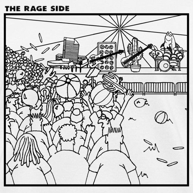 The Rage Side Ladies' T-shirt