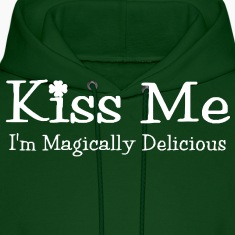 Kiss Me, I'm Magically Delicious Hoodie