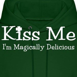 Kiss Me, I'm Magically Delicious Hoodie - Men's Hoodie