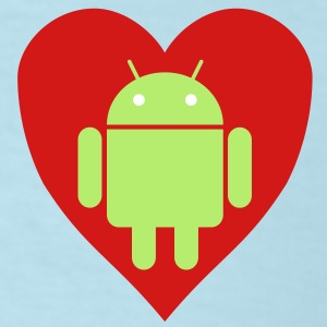 Android Love (Womens) - Men's T-Shirt