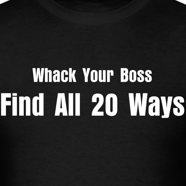 Find All 20 Ways...