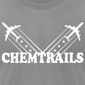American Chemtrails (White) - Men's - Men's T-Shirt by American Apparel