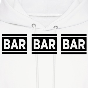 Bar Bar Bar VECTOR Hoodies - Men's Hoodie