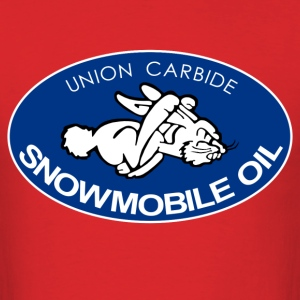 Snowmobile Oil - Men's T-Shirt