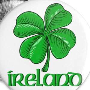 Irish Shamrock - Large Buttons